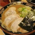宮崎とんこつラーメン 風来軒 - 料理写真:Wスープ