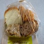 ル・ブーランジェ・ドゥ・モンジュ - モンジュの食事パンセット 864円