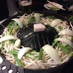 壱鉄 - まず野菜を焼く