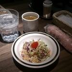 ミナミ キッチン - 2度目・昼も布オシボリと紙オシボリあり