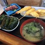 めはり寿司 二代目 - めはり寿司定食1100円