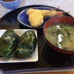 めはり寿司 二代目 - ミニセット550円