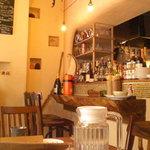 café+kitchen 北風と太陽 - ステキな店内でした