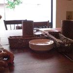café+kitchen 北風と太陽 - テーブルの様子