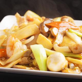 中華の高級食材も味わえます。