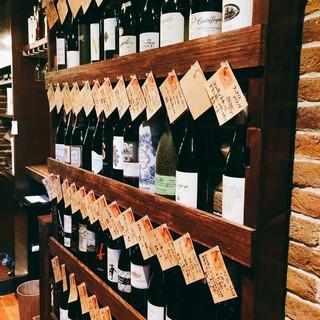 グラス500円、ボトル2800円からの厳選スペインワイン!