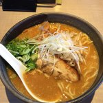 鐙 壱番 - 料理写真:烈火唐神味噌ラーメン