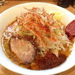麺屋 司 - 料理写真:ラーメン辛 ¥800