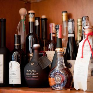 シニアソムリエが厳選したワインを、いろいろお楽しみ下さい
