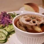 コッカ食堂 - 根菜のビーフシチュー