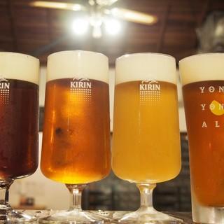 ドリンクも◎ソムリエ監修ワインやよなよなビールを生樽で提供♪