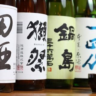 こだわり地酒!季節の一本やプレミア日本酒も随時入荷!
