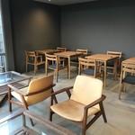 コムデザインストア カフェ - 店内