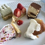 レストラン ファロ 資生堂  - デザートプレート