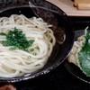 うどん屋 清 - 料理写真:かけうどん/ごぼう天(ハーフ)