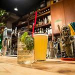 チャコールグリル グリーン - モヒート/八海山ビール