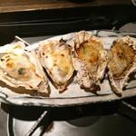 81631976 - 牡蠣グラタンと牡蠣のガーリックバター焼き