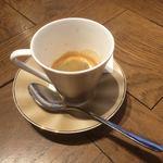 Trattoria e Pizzeria De salita - ランチのコーヒー