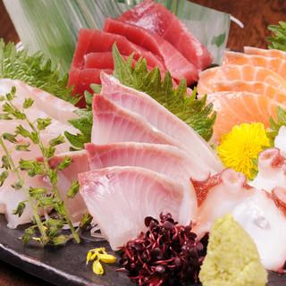 産地直送!当店自慢の魚料理