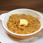 ポワン ドゥ デパー - アンコウのスープで作った小さなリゾット