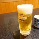 源氏 - 2018年1月 生ビール中【600円】2018年の初酒!