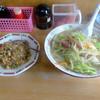 月天 - 料理写真:「はんちゃんチャンポン(焼めし半分・チャンポン)」800円