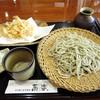 Kyouraku - 料理写真:白えびの天もりそば十割1830円