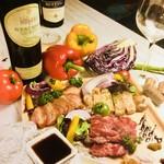 肉バルイタリアン Vivere - 本日のお肉三種盛り