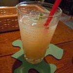 cafe Santa Fe - グレープフルーツジュース