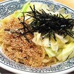 キリン食堂 - 黒つけ麺の麺