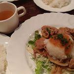 和風イタリアン創作料理 ねこのしっぽ - 豚の生姜焼き