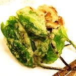 しの - 山菜の天麩羅(季節限定)