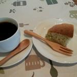 カフェ ピース - 料理写真:ケーキのセット