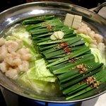 龍馬 - もつ鍋(塩味)!