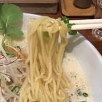 ふじ門 製麺 - 中太麺あっぷd( ̄.  ̄)/