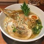 ふじ門 製麺 - 魚だしらぁ麺ヽ(・∀.・)~¥750円