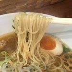 ふじ門 製麺 - 細麺あっぷd(^_、^o)