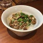 ふじ門 製麺 - チャーシュー丼〜( ^ω.^ )/¥300円