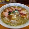 下前商店 - 料理写真:叉焼ワンタンメン1200円