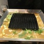 鉄板焼鳥 くちばし - 野菜にスープ