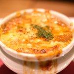 Cafe & Dining ICHI no SAKA - オニオングラタンスープ 1080円