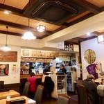 三佳屋 - 店内風景。