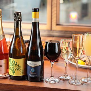 ◆赤・白・泡◇多彩なワインを豊富に取り揃え◎