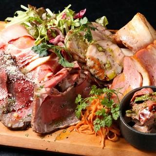 ◆こだわりの肉料理と燻製料理◆