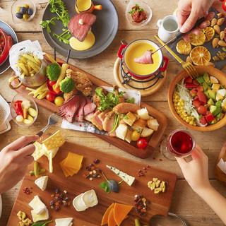 コンセプトは「チーズを美味しく食べて心も体も笑顔に」