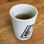 武蔵庵 - そば茶でした