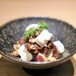JB日本橋 - 無花果の赤ワイン煮 もろみ漬けチーズ