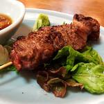 牛カルビのステーキ串
