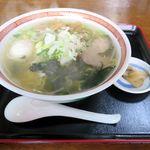 中華レストラン 大翔 - 料理写真:塩ラーメン(600円)