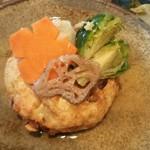 81668958 - お豆腐と山芋のおとし揚げ